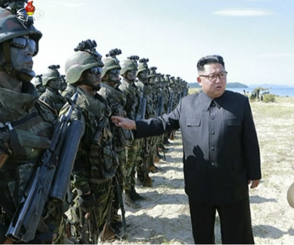 NKorea's Kim Jong Un Urges More Missile Launches Targeting Pacific