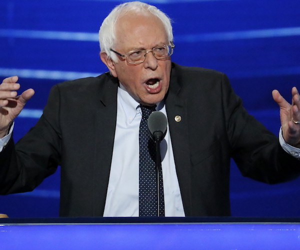 Report: Bernie's Single-Payer 'Litmus Test' Worries Dems