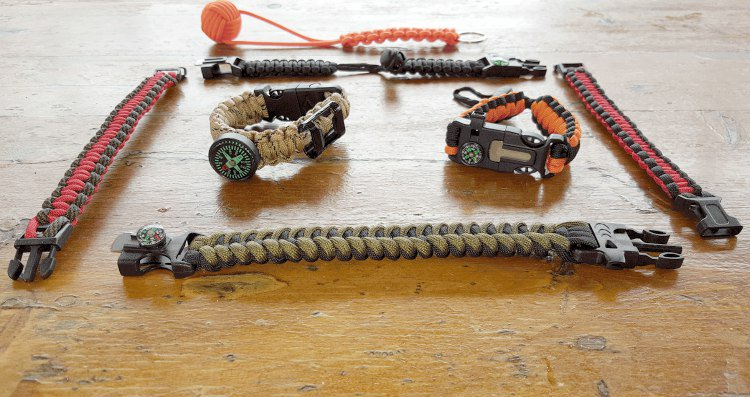 Top 10 Reasons To Never Leave Home Without A Paracord Bracelet