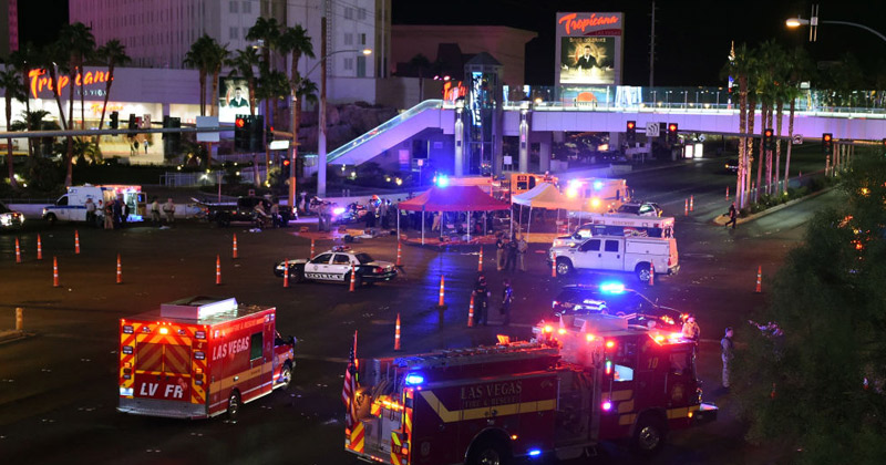 Vegas Bombshell: Video Shows 17 Ambulances Pulling Bodies Out Of Hooters