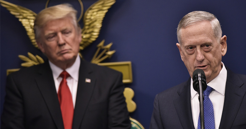 Mattis: North Korea's New ICBM Can Hit Targets Nearly 'Anywhere in the World'