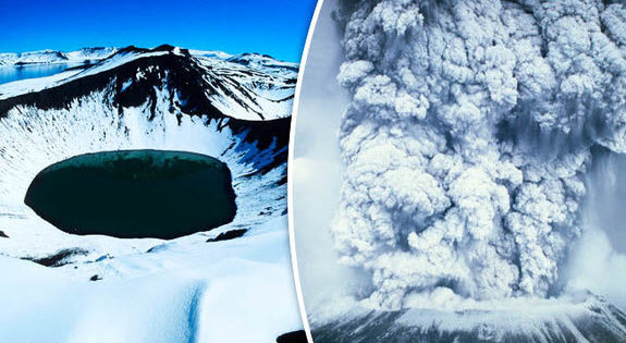 """Antarctic Volcano Warning: Ash Could """"Encircle The Globe"""" Causing Worldwide Health Problems"""