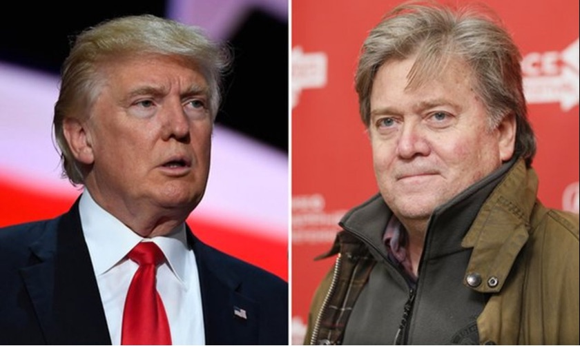 "Donald Trump Blasts ""Sloppy Steve"" Bannon As Feud Escalates"