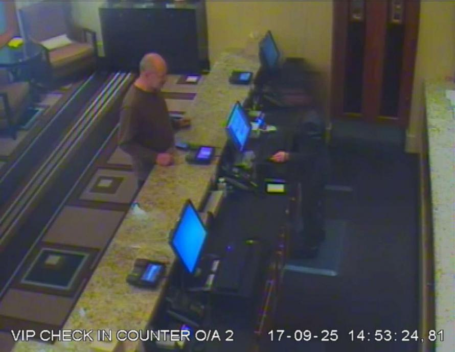 CCTV Footage From Las Vegas Reveals Stephen Paddock's Last Acts Before Massacre