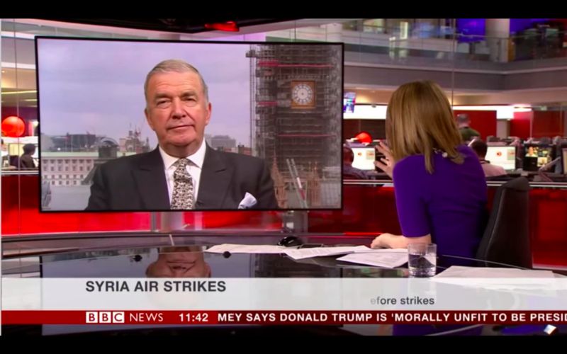 """BBC Reporter Discourages Syria Questions Due To """"Information War"""" With Russia"""
