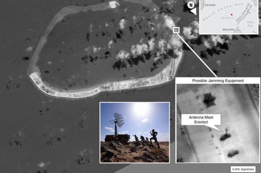 In Direct Rebuke To US, China Installs Radar Scramblers On Spratly Islands