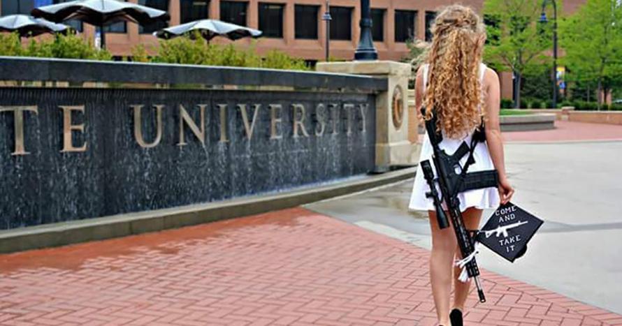 Kent State Grad Takes Aim At Anti-Gun Policies
