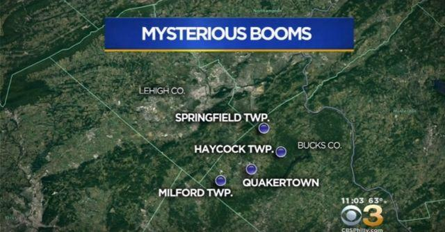 Mystery Booms Heard Across Pennsylvania Continue To Baffle FBI, Local Authorities