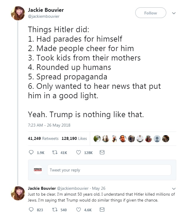 Crazed Leftist Tweets Retweeted More Than 40,000 Times…