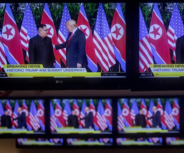 Trump: 'Fake News Media' Bias on Summit Is 'Almost Treasonous'
