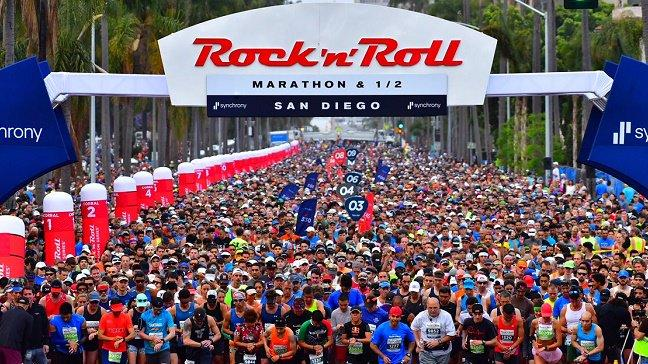 "Reports Of ""Active Shooter"" Halts San Diego's Rock'n'Roll Marathon; Shooter In Custody"