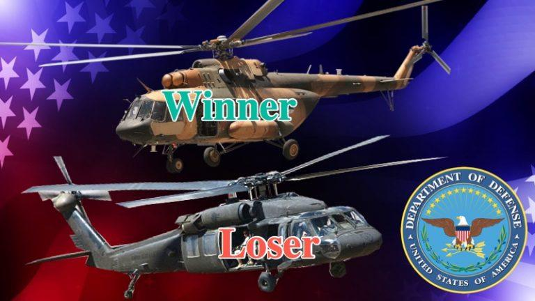 Black Hawks Down? Pentagon Admits Russian Chopper Trumps US