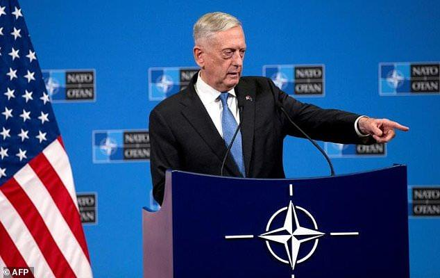 """Mattis: Withdrawing US Troops From Syria Would Be A """"Strategic Blunder"""""""
