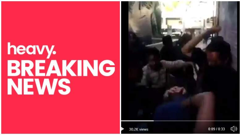 Violent Mob Beats Trump Supporter At Oakland Protest Before ChasingGroup Down The Street