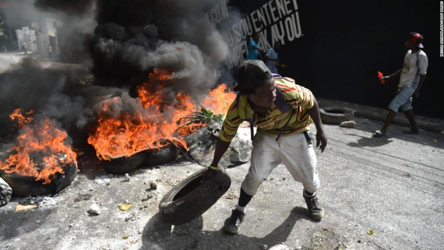 """""""Shelter In Place"""": All Hell Breaks Loose In Haiti As Violent Mobs Try To Murder Trapped American Tourists"""