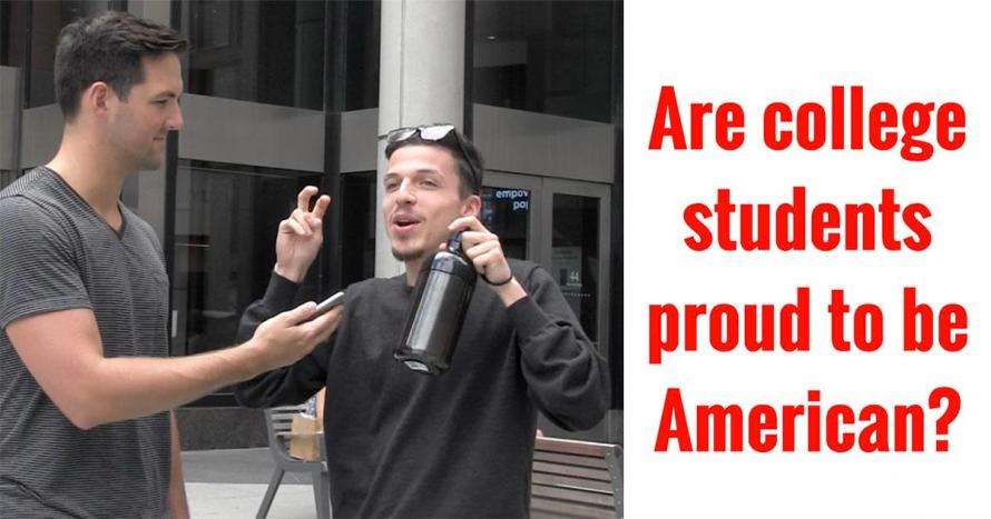Watch: Students Say They're Not Proud To Be An American