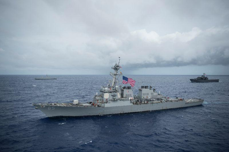 Two US Destroyers Sail Into Taiwan Strait For First Time Since 2007