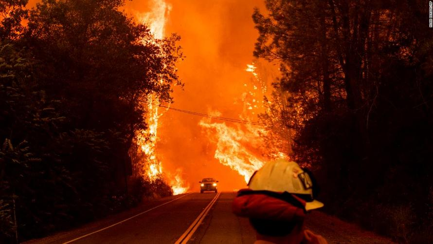 """Trump Declares State Of Emergency As """"Apocalyptic"""" Wildfire Devastates Northern California"""