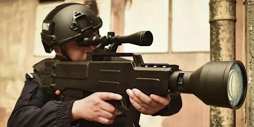 """Chinese """"Laser AK-47"""" Can Set You On Fire From Half A Mile Away"""