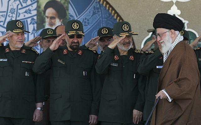 "Iran's Revolutionary Guard Says ""Awaiting Orders"" To Attack Israel Ahead Of Putin-Netanyahu Summit"