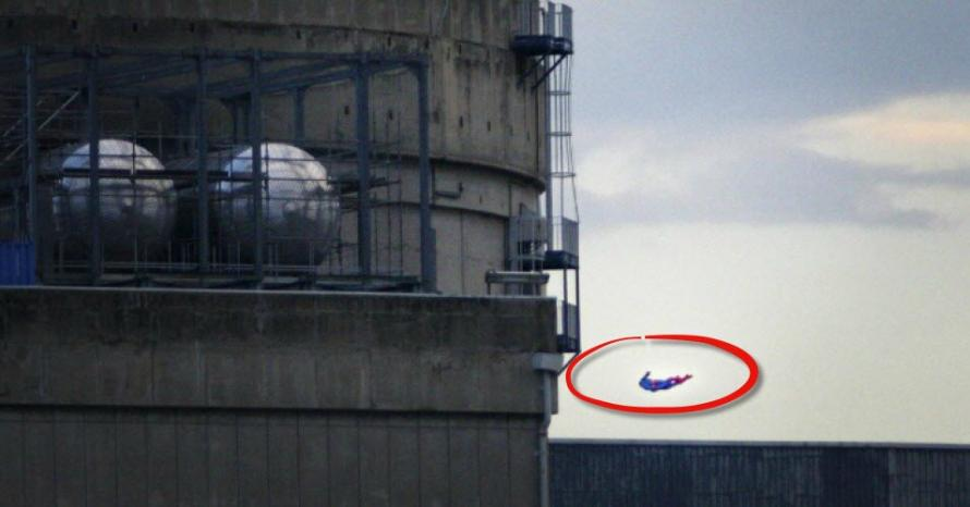 Watch: Greenpeace Crashes 'Superman Drone' Into Nuclear Power Plant To Expose Facility's Dangers