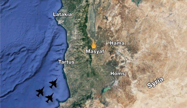 Israeli Jets Strike Syrian Chemical Facility In Rare Daylight Attack