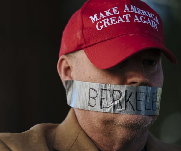 In Berkeley, Alt-Right Demonstrators, Protestors Clash