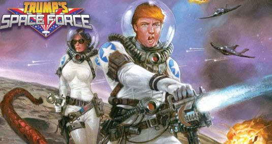 VP Pence Unveils Trump's Space Force; Will Cost $8 Billion Over 5 Years