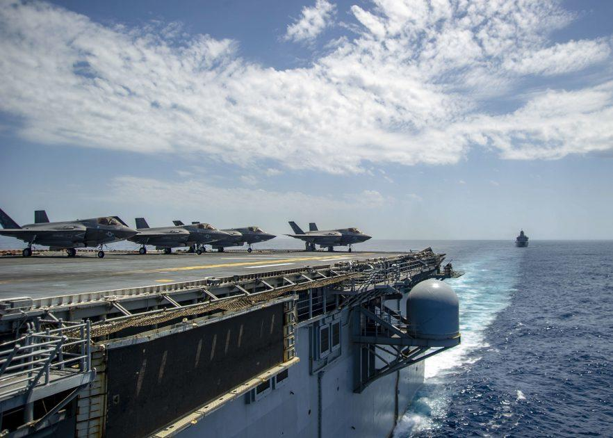 US Destroyer Enters Mediterranean As Syria Tensions Build; Carrier On Standby