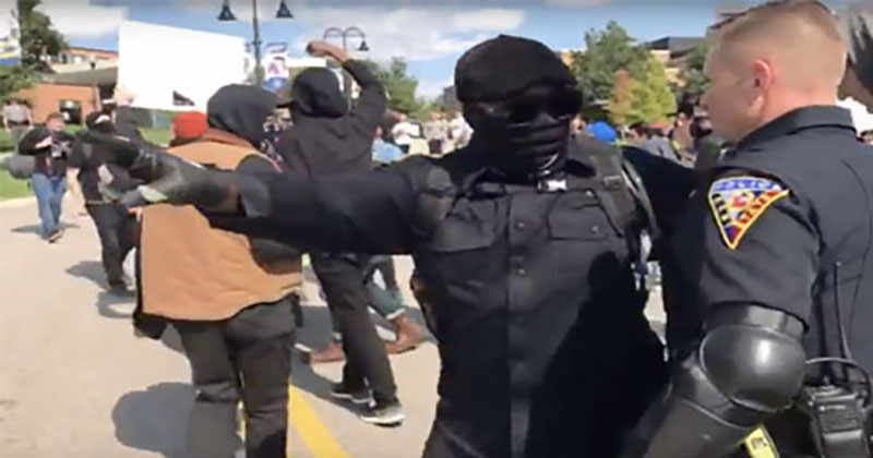 Insanity: Watch Violent Antifa Mob Attack Open Carry March At Kent State