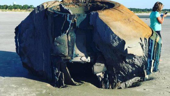 What Is This Mysterious Object That Washed Ashore In South Carolina?