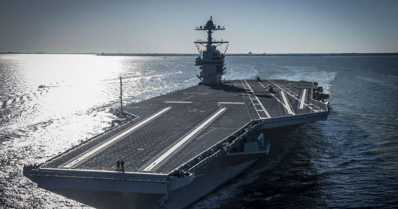 Navy's Priciest Aircraft Carrier Delivered Without Elevators To Lift Bombs