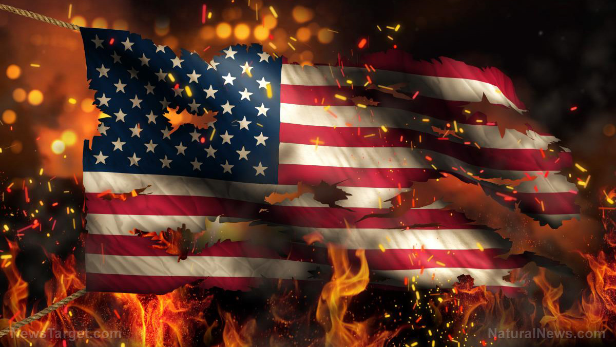 Red alert for the Republic: HALF of Americans just voted to destroy the country by putting socialist Democrats in charge